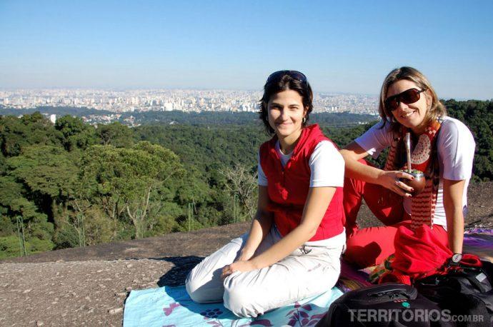 Resting in the Serra da Cantareira
