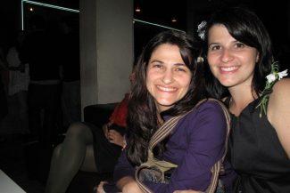 Com Laura na noite daAugusta