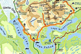 O mapa do Circuito W