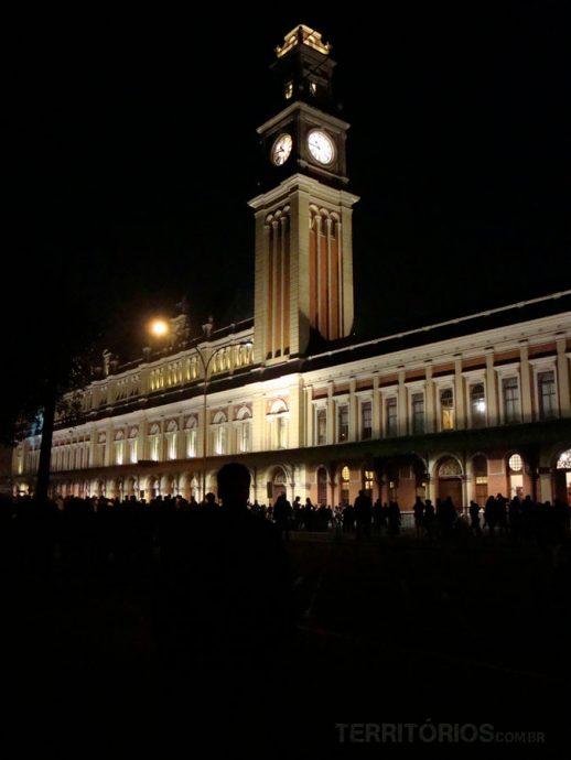 Estação da Luz em São Paulo