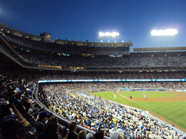 Jogo de beisebol dos Dodgers