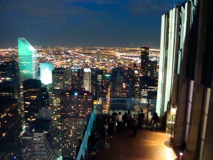 Vista de Manhattan a partir do Rockefeller Center