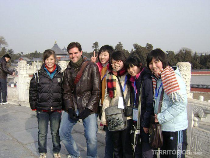 Fotografado pelas chinesas