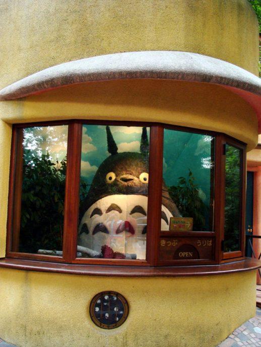 Totoro na recepção doMuseu Ghibbli