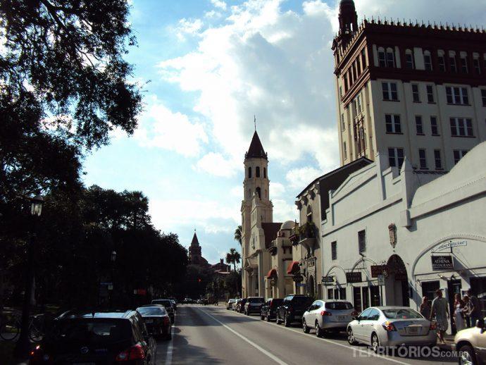 Vista da Cathedral Place