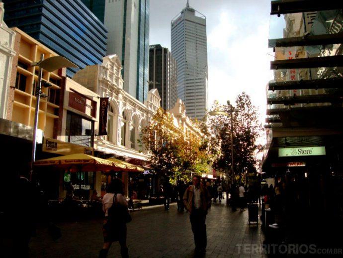 City, o centro de Perth
