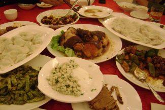 Pratos chineses típicos