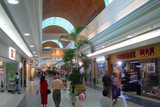 Um dos tantos Shopping Centers