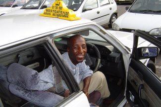 O taxista e a direção inglesa