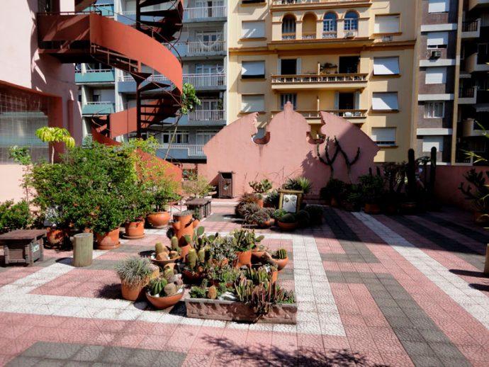 Jardim Lutz na Casa de Cultura Mário Quintana