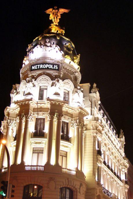 Edifício Metrópolis na Gran Via
