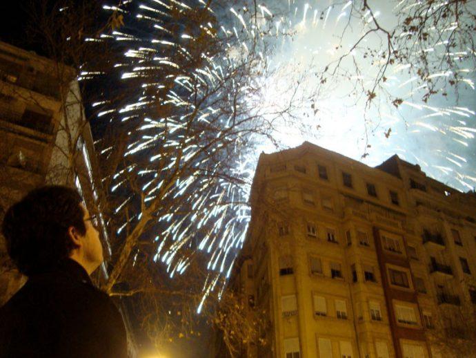 A noite dos fogos de artifício
