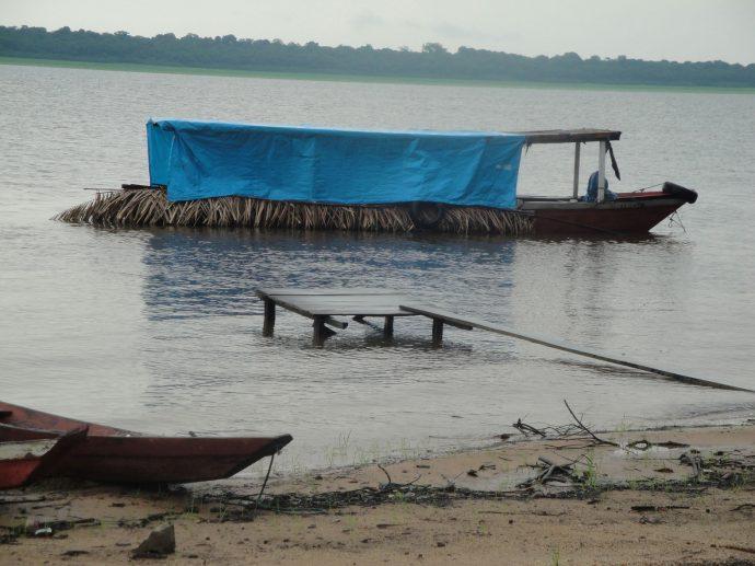 Embarcação indígena