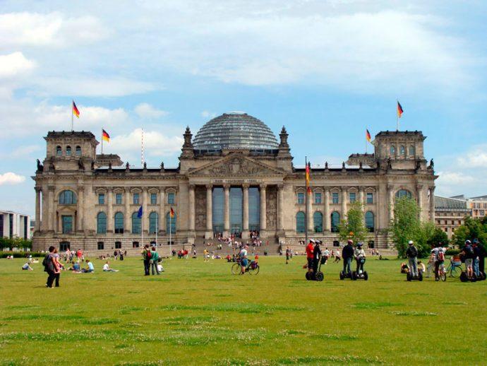 Reichstag, sede do parlamento alemão