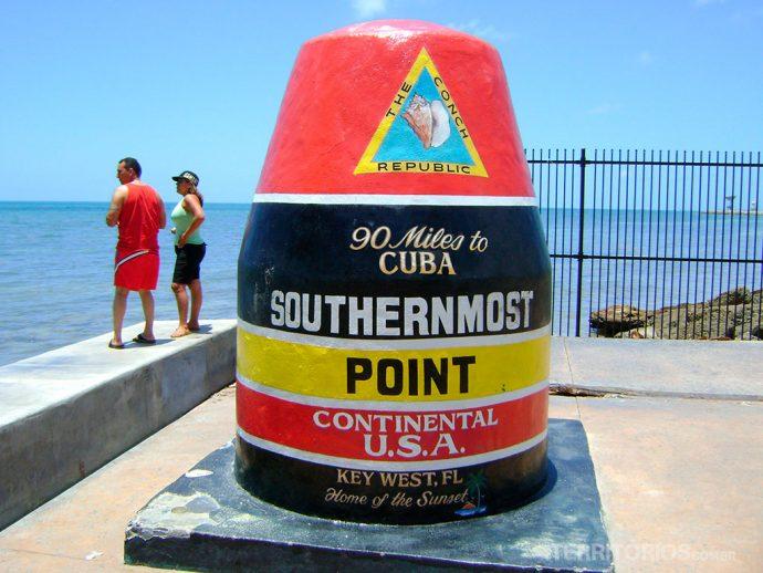 Ponto americano mais próximo de Cuba