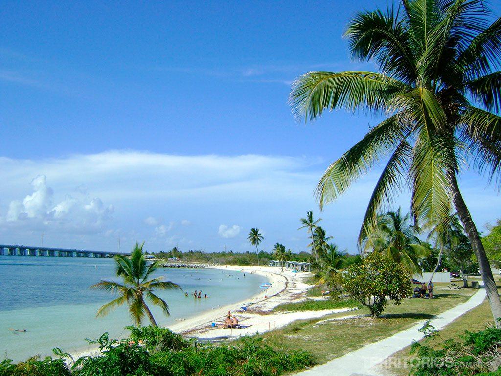 Key West, Estados Unidos. Um dos lugares onde fica o caribe