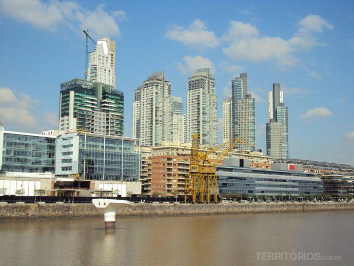 Antigo Puerto Madero, futuro Palermo Docklands?