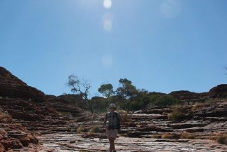 Roberta Martins no Kings Canyon