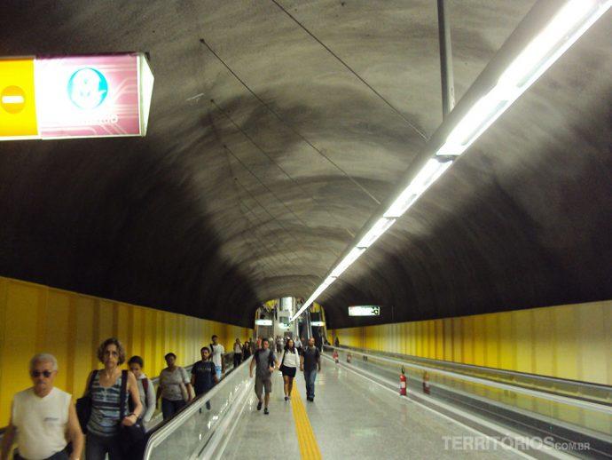 E o metrô chegou a Ipanema!