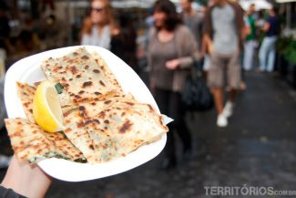 Crepes no The Rocks Market