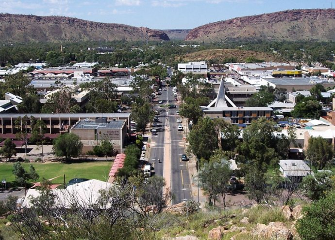 Alice Springs e MacDonnell Ranges