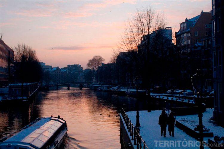 Hotel barco em Amsterdam