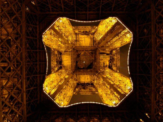 Detalhe da Torre Eifel