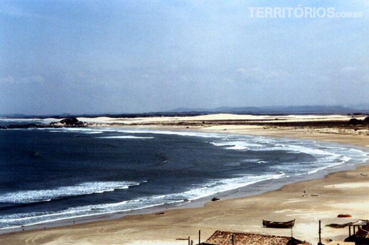 Praia do Cardoso, Farol de Santa Marta, Laguna, SC - Brasil