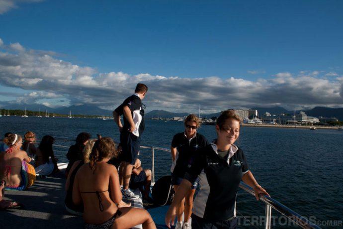 O melhor lugar para ficar no barco