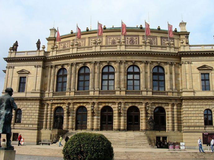 Rudolfinum abriga verdadeiros concertos de música clássica