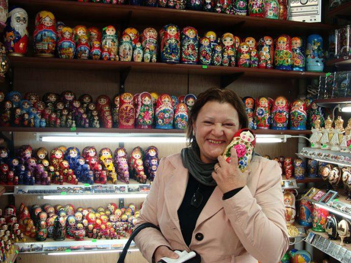 Minha mãe e as matrioshkas: um caso de amor