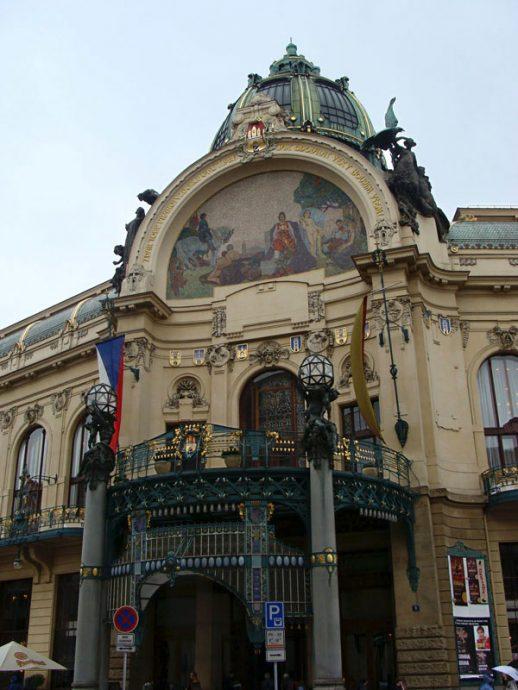Arquitetura eslava em Praga