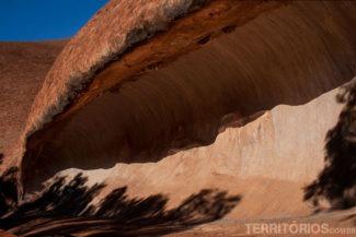 Mala Walk - pedra tem formato de onda