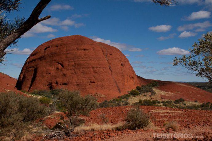 Paisagem diferente no Outback Australiano