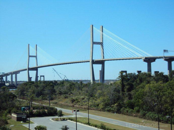 Ponte sobre o rio Savannah