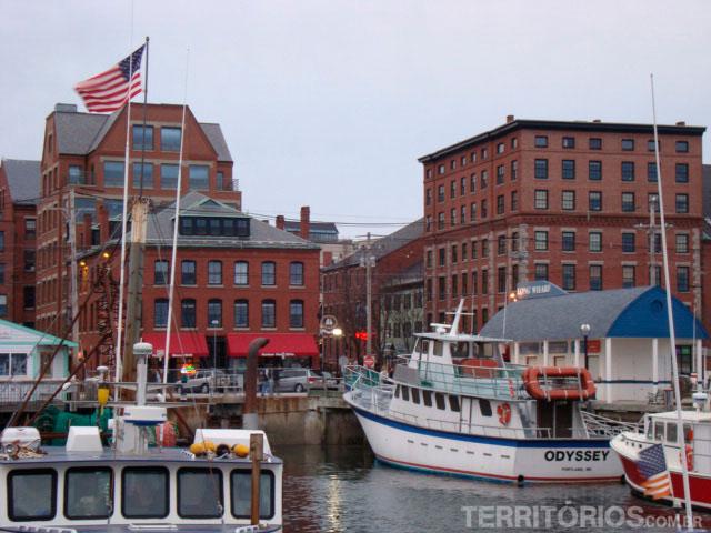 O porto de Freeport