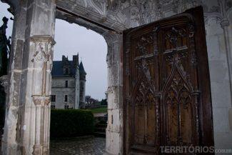 Chateau Amboise visto da capela