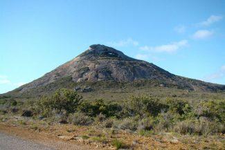 Montanha escolhida para escalar