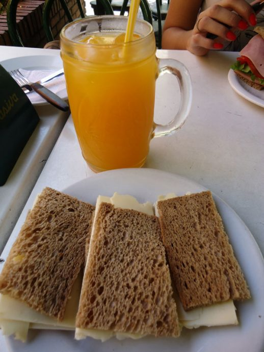 Sanduíche de queijo