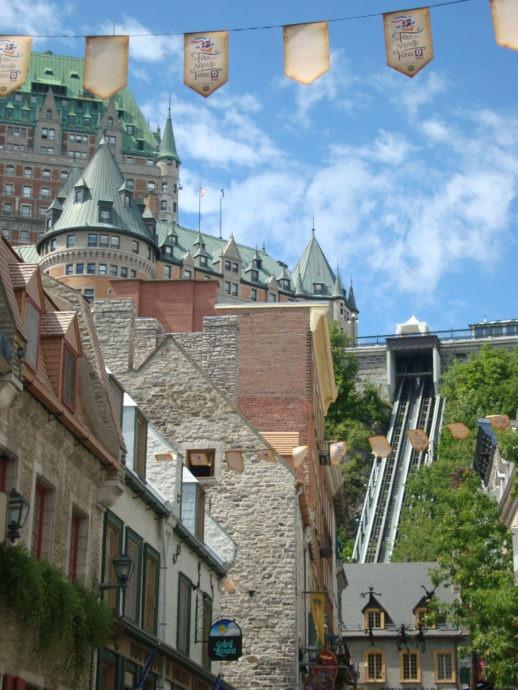 Castelo em Quebec