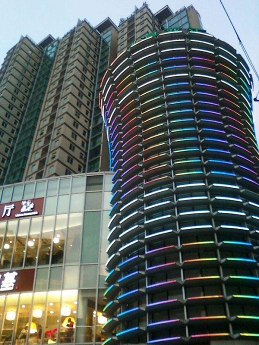 Arquitetura em Shanghai, China