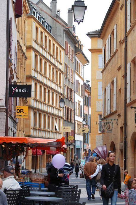 Ruas de Neuchâtel