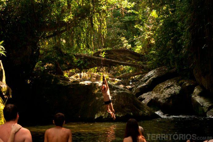 Brincando de Tarzan