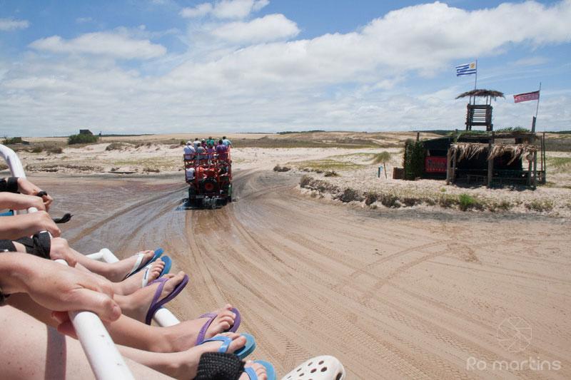 Transporte para Cabo Polônio