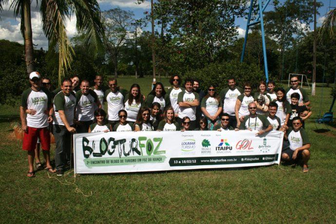 Novos amigos em Foz do Iguaçu