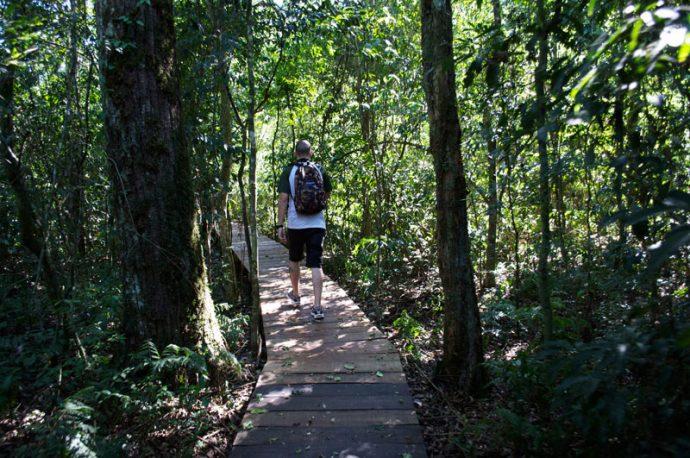Interação e preservação nas trilhas