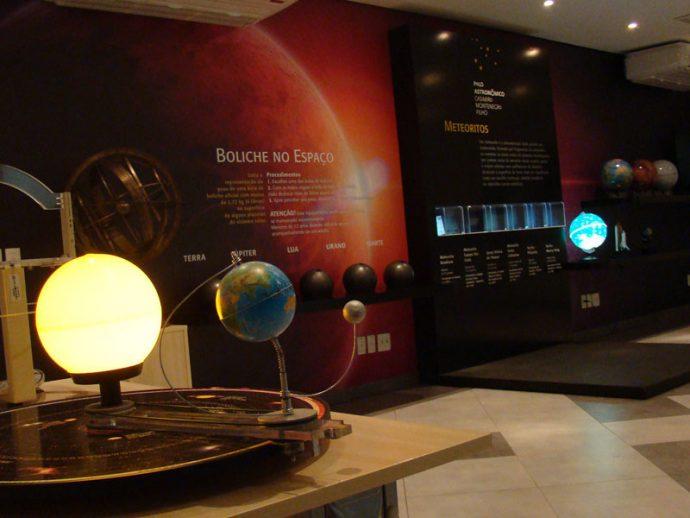 Exposição no Polo Astronômico