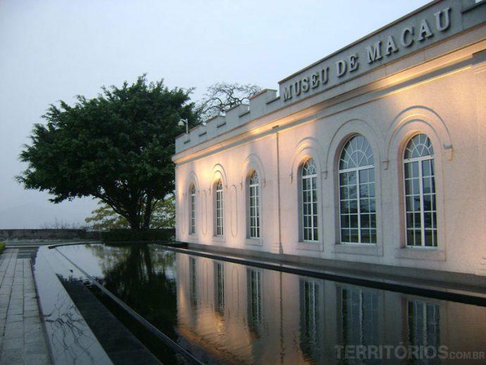 O museu de Macau