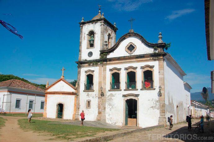 Igreja de Santa Rita pela manhã