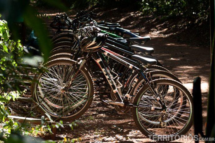 A trilha do Poço Preto pode ser feita em bicicleta